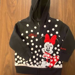 Minnie Mouse Sweat jacket from WDW